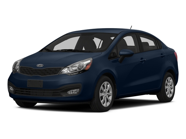 Midnight Sapphire 2015 Kia Rio Pictures Rio Sedan 4D EX I4 photos front view
