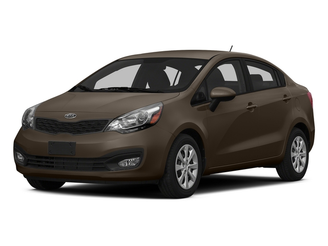 Chestnut 2015 Kia Rio Pictures Rio Sedan 4D EX I4 photos front view