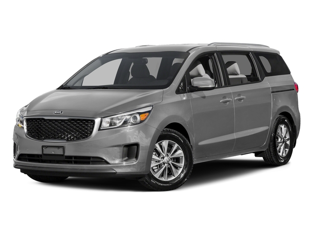 Bright Silver 2015 Kia Sedona Pictures Sedona Wagon LX V6 photos front view