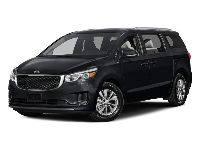 Aurora Black 2015 Kia Sedona Pictures Sedona Wagon LX V6 photos front view