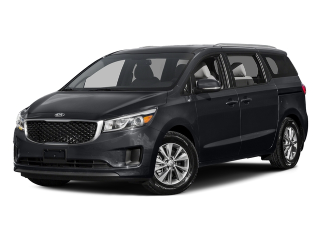Platinum Graphite 2015 Kia Sedona Pictures Sedona Wagon LX V6 photos front view