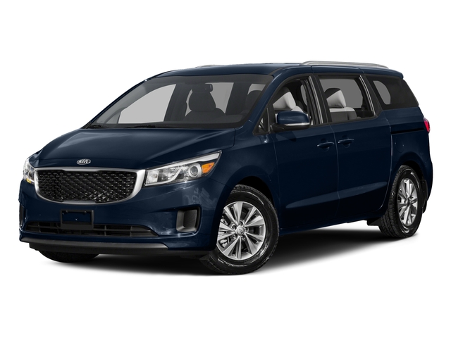 Deep Formal Blue 2015 Kia Sedona Pictures Sedona Wagon LX V6 photos front view