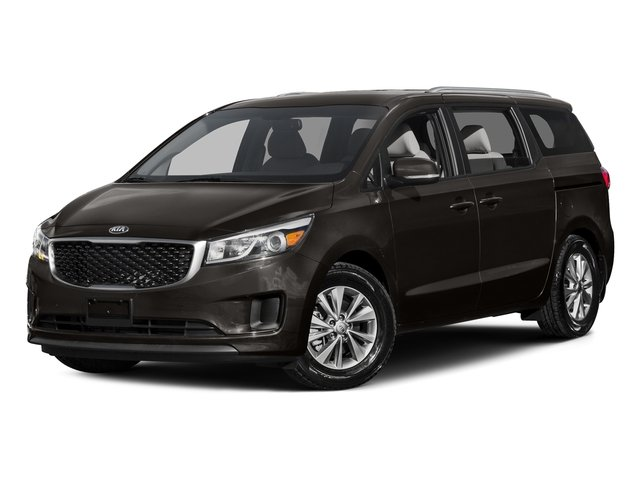 Titanium Brown 2015 Kia Sedona Pictures Sedona Wagon LX V6 photos front view