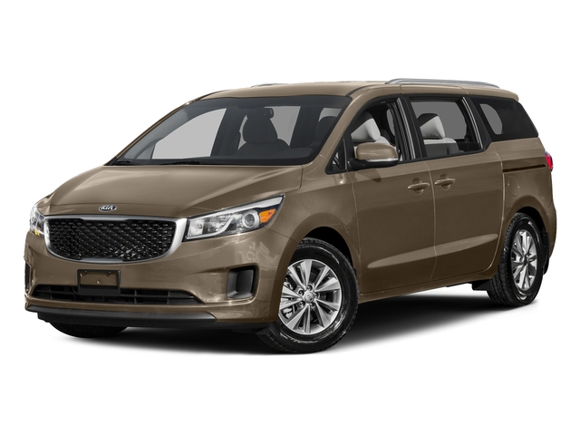 New Beige 2015 Kia Sedona Pictures Sedona Wagon LX V6 photos front view