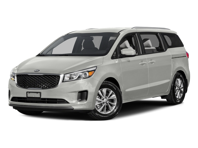 Solid White 2015 Kia Sedona Pictures Sedona Wagon LX V6 photos front view