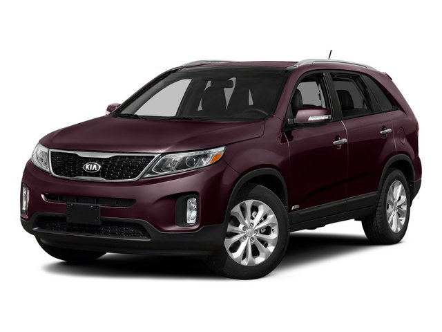 Dark Cherry 2015 Kia Sorento Pictures Sorento Utility 4D SX 2WD V6 photos front view