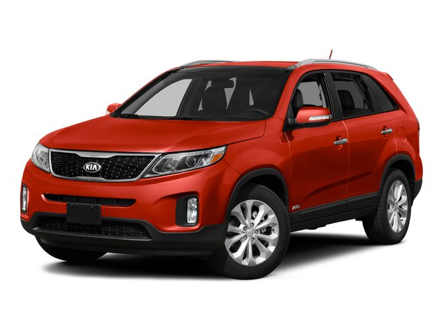 Remington Red Metallic 2015 Kia Sorento Pictures Sorento Utility 4D SX 2WD V6 photos front view