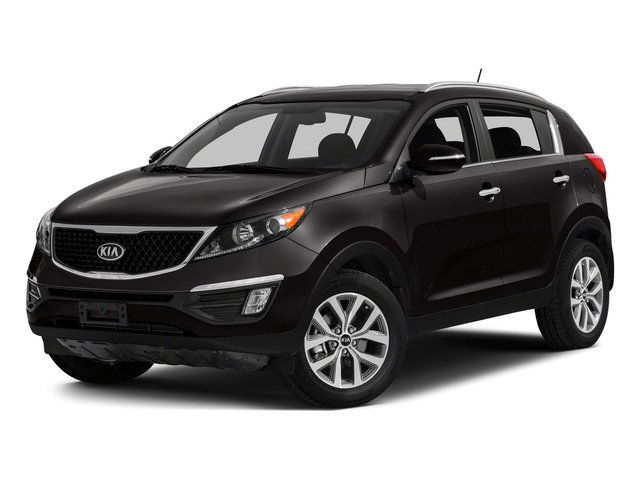 Black Cherry 2015 Kia Sportage Pictures Sportage Utility 4D EX 2WD I4 photos front view