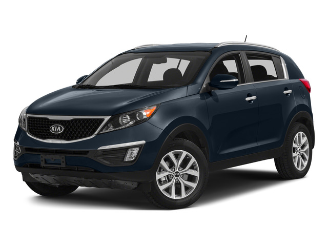 Twilight Blue 2015 Kia Sportage Pictures Sportage Utility 4D EX 2WD I4 photos front view