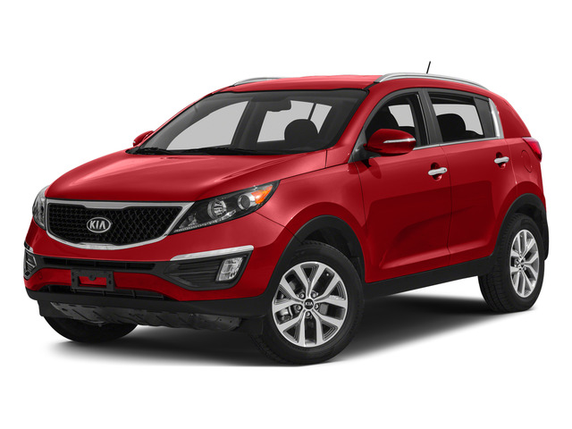 Signal Red 2015 Kia Sportage Pictures Sportage Utility 4D LX 2WD I4 photos front view