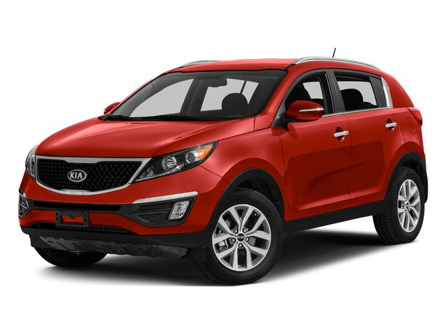 Signal Red 2015 Kia Sportage Pictures Sportage Utility 4D SX 2WD I4 Turbo photos front view