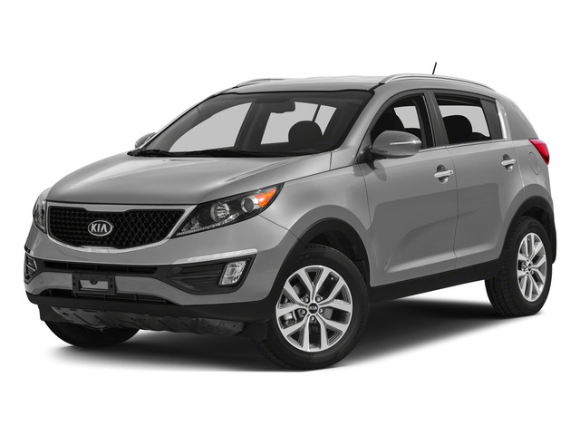 Mineral Silver 2015 Kia Sportage Pictures Sportage Utility 4D SX 2WD I4 Turbo photos front view