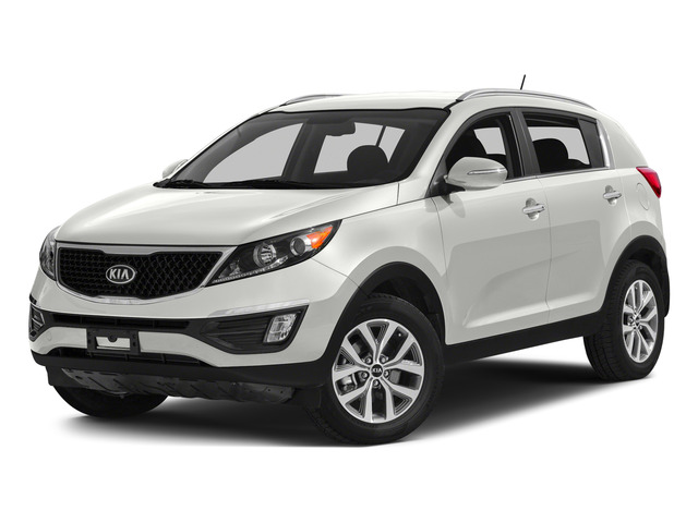 Clear White 2015 Kia Sportage Pictures Sportage Utility 4D SX 2WD I4 Turbo photos front view
