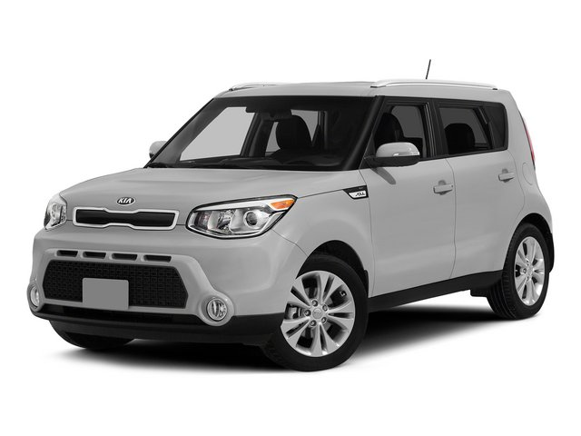 Bright Silver 2015 Kia Soul Pictures Soul Wagon 4D I4 photos front view
