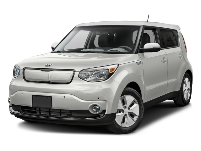 Clear White 2015 Kia Soul EV Pictures Soul EV Wagon 4D EV Electric photos front view