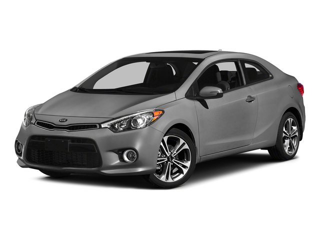 Graphite Steel 2015 Kia Forte Koup Pictures Forte Koup Coupe 2D EX I4 photos front view