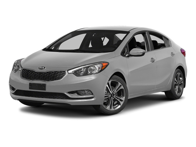 Bright Silver 2015 Kia Forte Pictures Forte Sedan 4D EX I4 photos front view