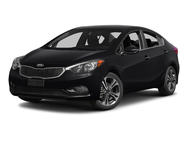 Aurora Black 2015 Kia Forte Pictures Forte Sedan 4D EX I4 photos front view