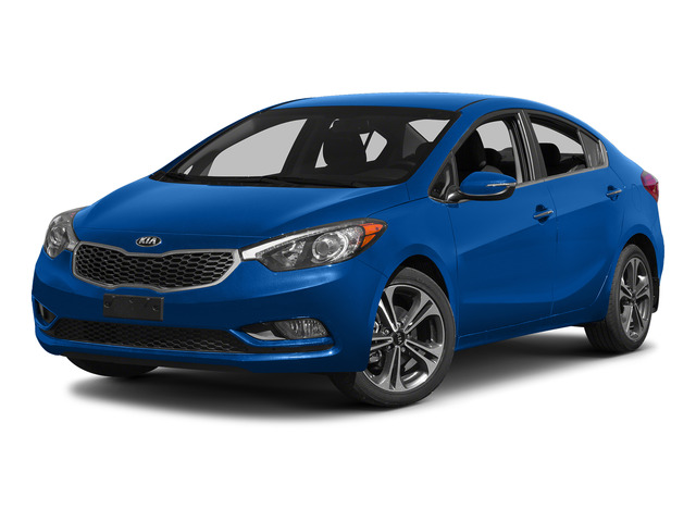 Gravity Blue 2015 Kia Forte Pictures Forte Sedan 4D EX I4 photos front view