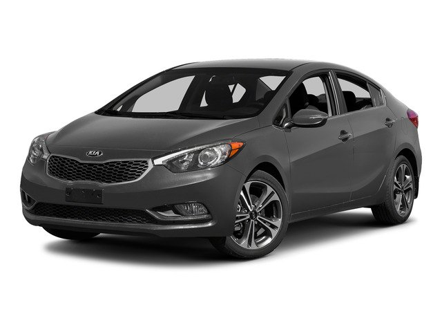 Steel Blue 2015 Kia Forte Pictures Forte Sedan 4D EX I4 photos front view