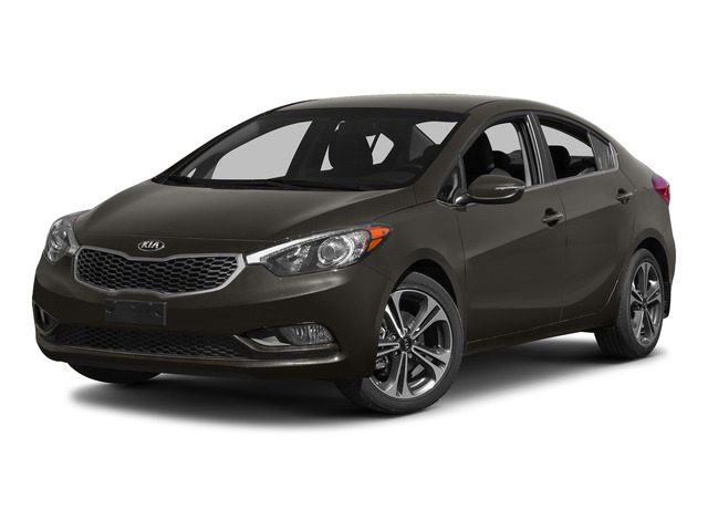 Metallic Bronze 2015 Kia Forte Pictures Forte Sedan 4D EX I4 photos front view
