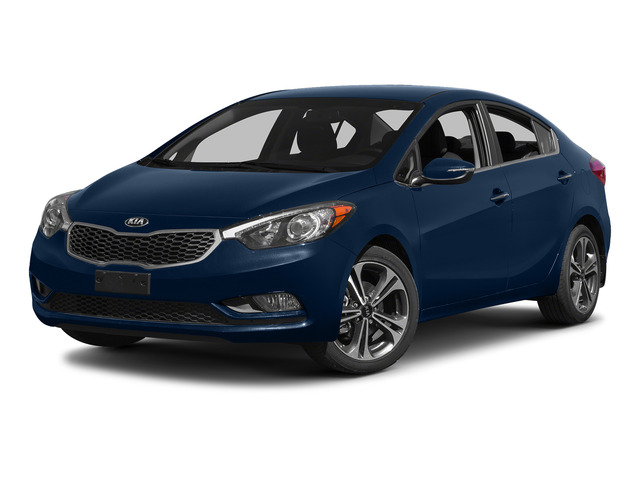 Abyss Blue 2015 Kia Forte Pictures Forte Sedan 4D EX I4 photos front view