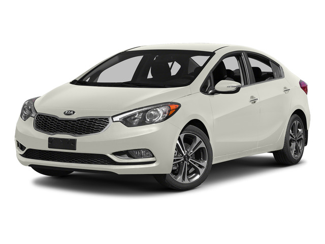 Snow White Pearl 2015 Kia Forte Pictures Forte Sedan 4D EX I4 photos front view