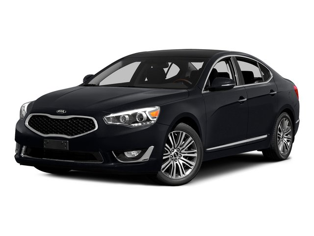 Aurora Black 2015 Kia Cadenza Pictures Cadenza Sedan 4D Premium V6 photos front view