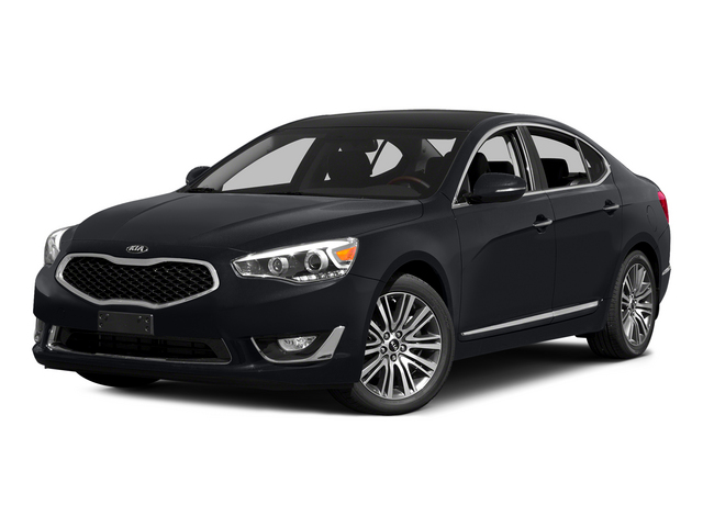 Aurora Black 2015 Kia Cadenza Pictures Cadenza Sedan 4D Limited V6 photos front view