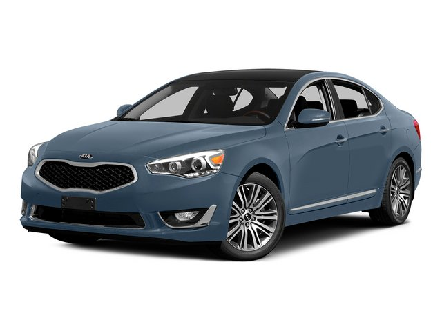 Smokey Blue 2015 Kia Cadenza Pictures Cadenza Sedan 4D Premium V6 photos front view