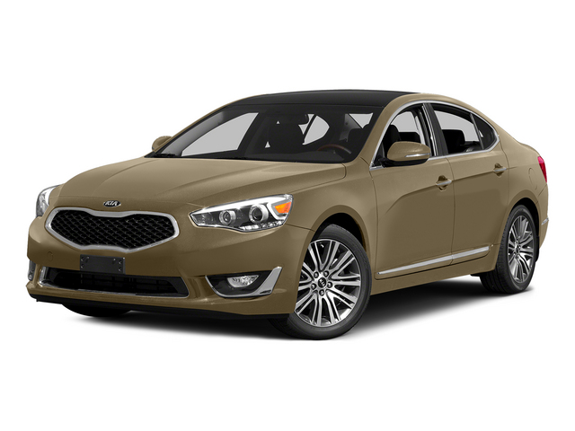 Bronze Metallic 2015 Kia Cadenza Pictures Cadenza Sedan 4D Premium V6 photos front view
