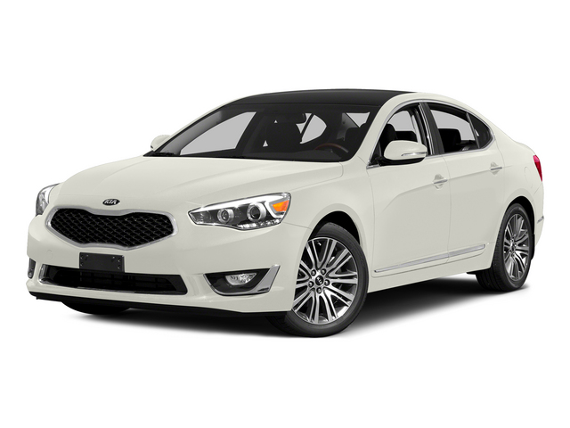 Snow White Pearl 2015 Kia Cadenza Pictures Cadenza Sedan 4D Limited V6 photos front view