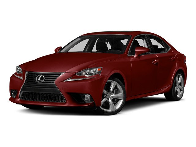 Matador Red Mica 2015 Lexus IS 350 Pictures IS 350 Sedan 4D IS350 V6 photos front view