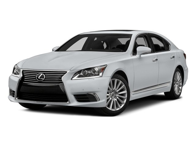Ultra White 2015 Lexus LS 460 Pictures LS 460 Sedan 4D LS460 V8 photos front view