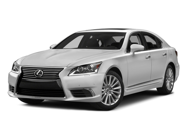 Liquid Platinum 2015 Lexus LS 460 Pictures LS 460 Sedan 4D LS460 V8 photos front view
