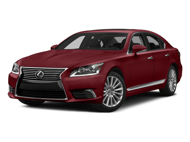 Matador Red Mica 2015 Lexus LS 460 Pictures LS 460 Sedan 4D LS460 V8 photos front view