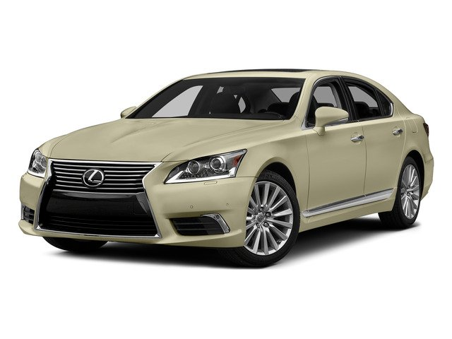 Satin Cashmere Metallic 2015 Lexus LS 460 Pictures LS 460 Sedan 4D LS460 V8 photos front view