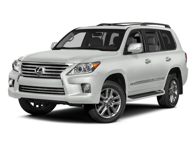 Starfire Pearl 2015 Lexus LX 570 Pictures LX 570 Utility 4D 4WD V8 photos front view