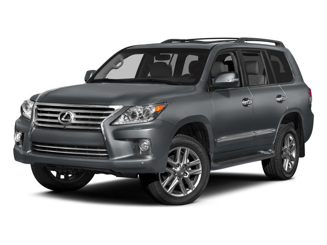 Nebula Gray Pearl 2015 Lexus LX 570 Pictures LX 570 Utility 4D 4WD V8 photos front view