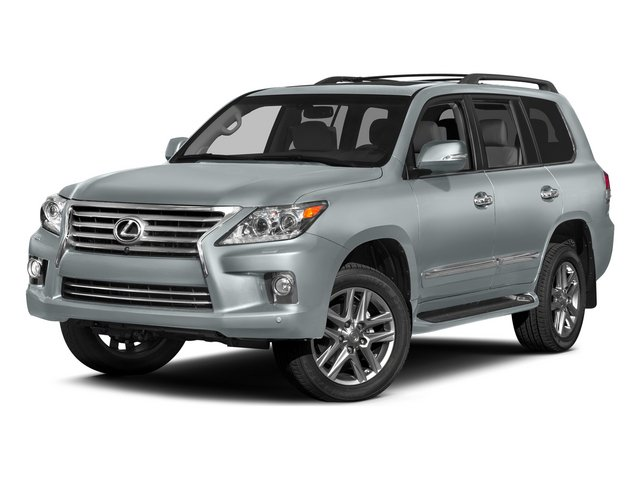 Silver Lining Metallic 2015 Lexus LX 570 Pictures LX 570 Utility 4D 4WD V8 photos front view