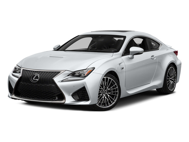 Ultra White 2015 Lexus RC F Pictures RC F Coupe 2D RC-F V8 photos front view