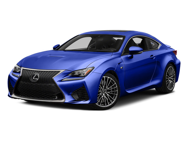 Ultrasonic Blue Mica 2.0 2015 Lexus RC F Pictures RC F Coupe 2D RC-F V8 photos front view