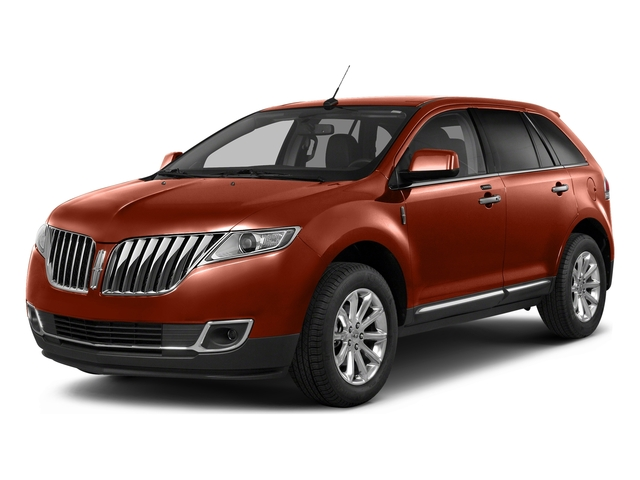 Sunset Metallic 2015 Lincoln MKX Pictures MKX Wagon 4D Elite AWD photos front view