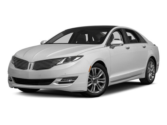 Confidential White 2015 Lincoln MKZ Pictures MKZ Sedan 4D Black Label AWD V6 photos front view