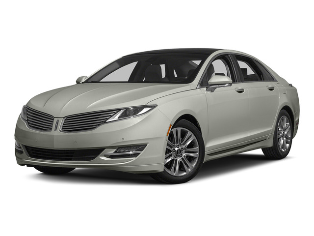 Crystal Silver 2015 Lincoln MKZ Pictures MKZ Sedan 4D Black Label AWD V6 photos front view
