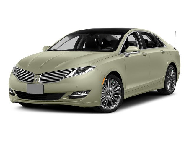 Platinum Dune Metallic Tri-Coat 2015 Lincoln MKZ Pictures MKZ Sedan 4D I4 Hybrid photos front view