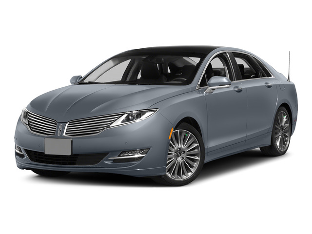 Luxe Metallic 2015 Lincoln MKZ Pictures MKZ Sedan 4D I4 Hybrid photos front view
