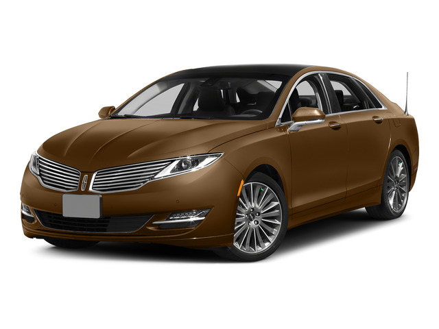 Bronze Fire Metallic Tinted Clearcoat 2015 Lincoln MKZ Pictures MKZ Sedan 4D I4 Hybrid photos front view