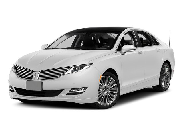 White Platinum Metallic Tri-Coat 2015 Lincoln MKZ Pictures MKZ Sedan 4D I4 Hybrid photos front view
