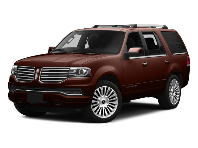 Java Metallic 2015 Lincoln Navigator Pictures Navigator Utility 4D Select 2WD V6 Turbo photos front view
